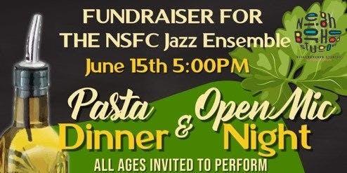 Jazz Ensemble Pasta Dinner/Open Mic Night
