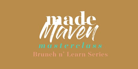 MADE Maven Masterclass: Entrepreneurship tickets