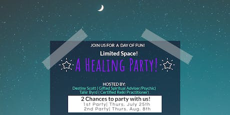 A Healing Party! Free Dinner! Psychic reading & Reiki!! Fun Games & Great Prizes! tickets