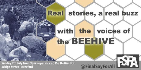 #FSFABeehive - Hereford tickets