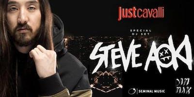 Just Cavalli Milano-LISTA CUGINI-STEVE AOKI Dj set +393382724181 | Giovedì 20 Giugno