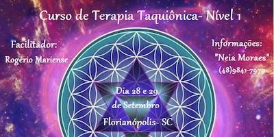 Curso de Terapia Taquiônica Nível 1