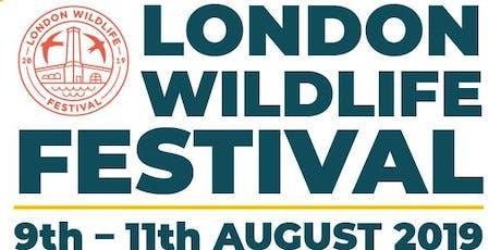 Garden Bathing Workshop at London Wildlife Festival tickets