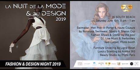 La Nuit de la Mode & du Design / Fashion & Design Night @ W South Beach tickets