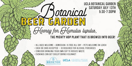 Botanical Beer Garden tickets