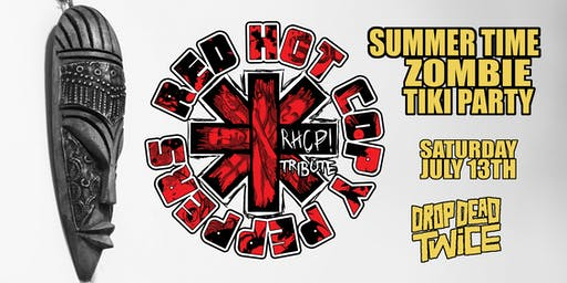 Red Hot Copy Peppers Summer Time Zombie Tiki Party