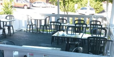 Party on the Patio with Chef and Owner George Hedary