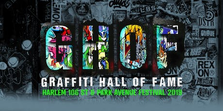 Graffiti Hall of Fame - 39th Annual Edition tickets