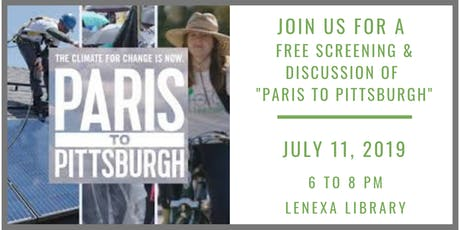 Paris to Pittsburgh: Free Screening and Discussion tickets