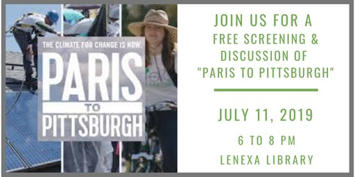 Paris to Pittsburgh: Free Screening and Discussion