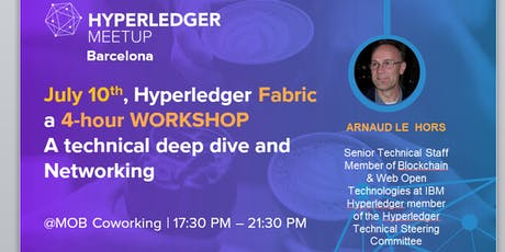 Hyperledger Fabric Workshop: 4-hour Workshop - Q&A - Networking & Beers entradas