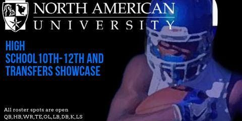 North American University Football Summer Showcase Camp 7/13 ($65 at showcase location)