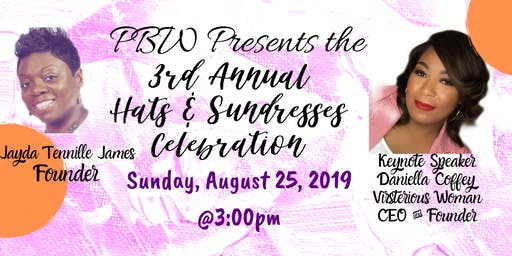 3rd Annual Hats & Sundresses Celebration