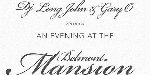 DJ LONG JOHN & GARY O BLACK & WHITE AFFAIR AT BELMONT MANSION