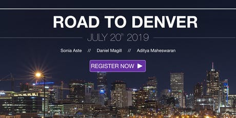The Road to Denver - Stories of resilience tickets