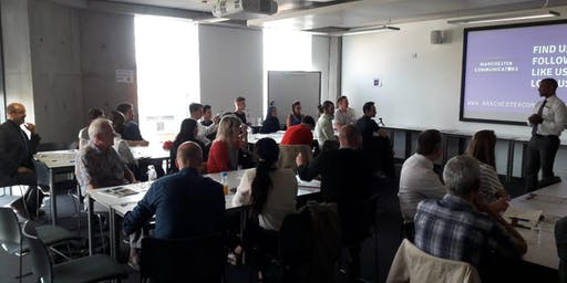 Public Speaking and Leadership with Manchester Communicators