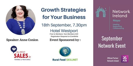 Growth Strategies for Your Business tickets