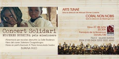 Concierto Solidario MUJERES BURKINA entradas