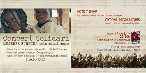 Concierto Solidario MUJERES BURKINA