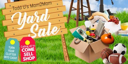 Mom 2 Mom Yard Sale