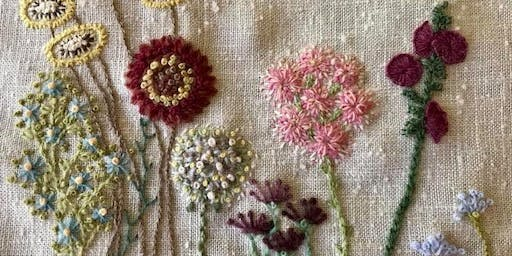 Intro to Hand-Embroidery, with Lisa Craig at Lark Studio