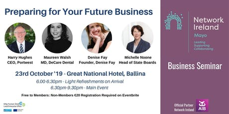 Business Seminar Preparing for Your Future Business  tickets