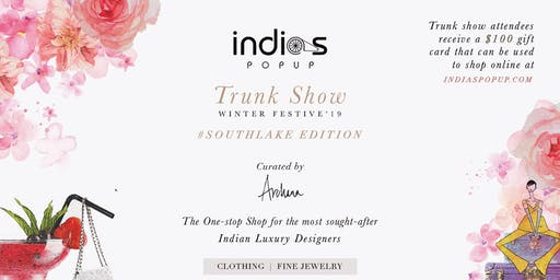 Indiaspopup.com Presents Trunk Show Winter/Festive'19 -Southlake
