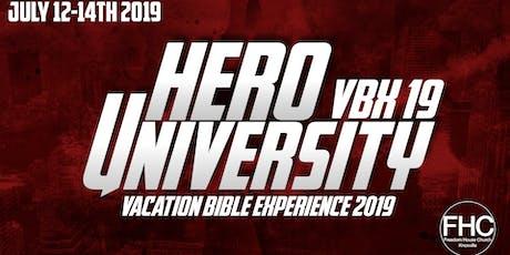 Hero University VBX 19 tickets