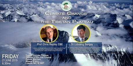 Climate Change  and the Tibetan Plateau tickets