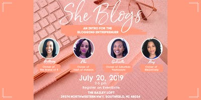 She Blogs: An Intro for the Blogging Entrepreneur