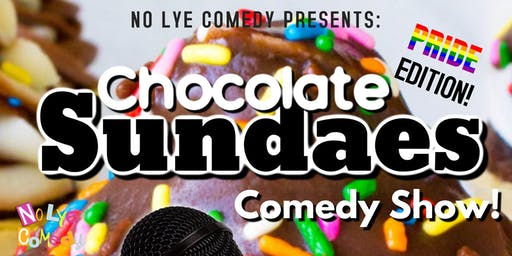 No Lye Presents Chocolate Sundaes