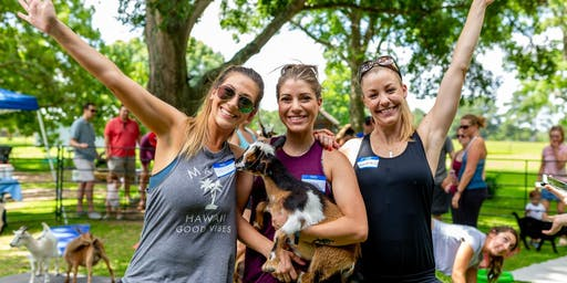 Goat Yoga Texas - Sat., July 13 @ 10AM