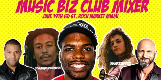 Music Biz Club Mixer Series:  Ajani Griffith interviews Marlow Rosado.