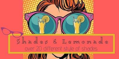 Shades & Lemonade Sip & Shop