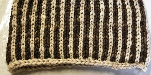 Introduction to Brioche (knitting in the round)