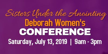 Sisters Under The Anointing Deborah Women's Conference tickets