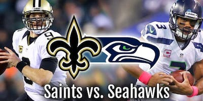 Seahawks v Saints 12s New Orleans Watch Party