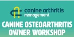 Canine Arthritis Management Owner Workshop