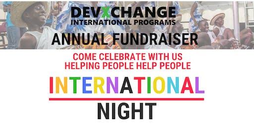 International Night - Annual Devxchange Fundraiser