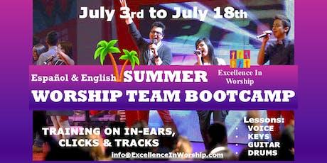 Worship Team Summer Bootcamp Orientation tickets
