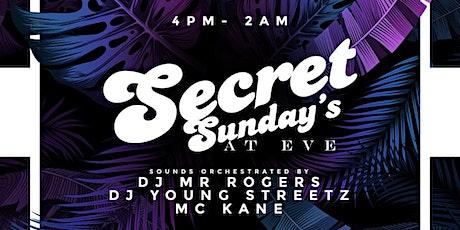 EvE SECRET SUNDAYS (CLOSED) tickets