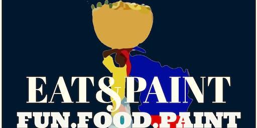 Flava Of Haiti Presents...Eat&Paint