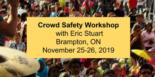 Crowd Safety Workshop - Brampton