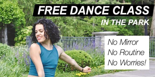 Free Dance Class In The Park