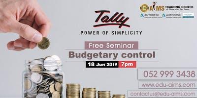 FREE Seminar - Budgetary Control