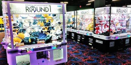 Fun and Games at Round 1 Arcade tickets