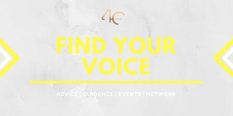 4C Presents: Find Your Voice tickets