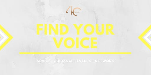 4C Presents: Find Your Voice