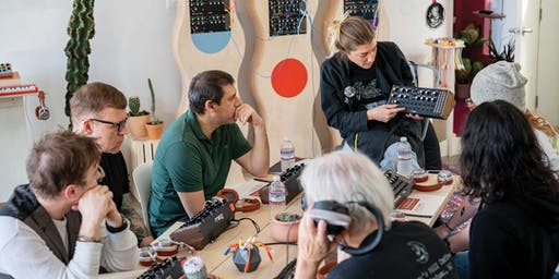 Moog Analog Synthesizer Workshop –Led by Bana Haffar