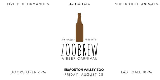 Zoobrew 2019 (Zoo Brew at the Edmonton Valley Zoo)